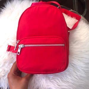 NWOT Red Mini Forever 21 Backpack